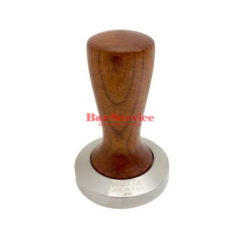 Темпер Мотта SLIM 58 мм. (плоский) рукоятка из дерева в Нижнем Новгороде