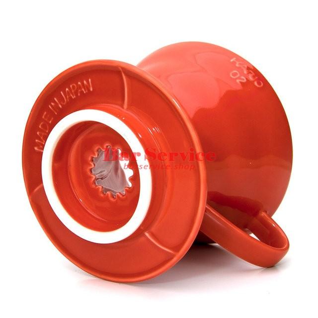 Hario VDC-02R. Воронка керамическая красная. 1-4 чашки в Нижнем Новгороде